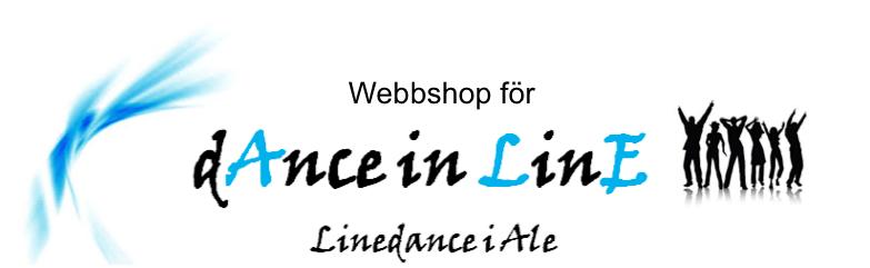 Webshop för Dance in Line i Ale